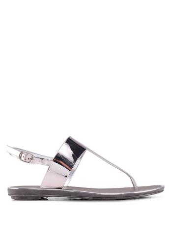 Carlton London 灰色 Sling 後涼鞋 70BE2SH155A53BGS_1