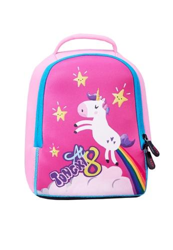 Twenty Eight Shoes pink VANSA Animal print Backpacks VAK-Bp654L2 E6C5EKCDA046EFGS_1
