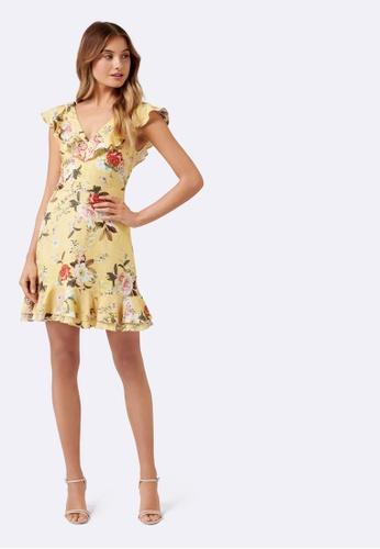 Forever New Elliette Floral Sun Dress 4AC0BAA59E0F96GS_1