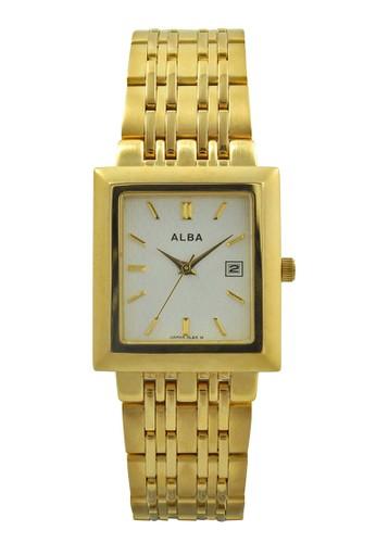 ALBA gold ALBA Jam Tangan Pria - Gold - Stainless Steel - AXTR36  AL383AC54WOFID 1 3306907765