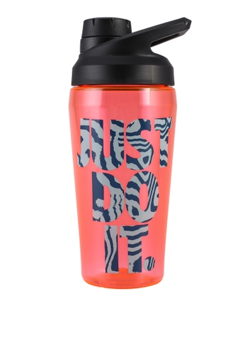 Nike red TR Hypercharge Chug Graphic Water Bottle F5AFBAC26FE05CGS_1
