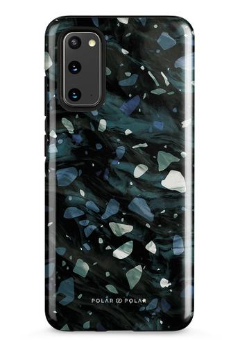 Polar Polar grey Nordic Terrazzo Gem Dual-Layer Tough Case Glossy For Samsung Galaxy S20 5G BC35EAC8E5F7B4GS_1