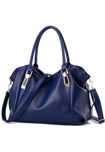 TCWK blue TCWK Women Fashion Ladies Handbag - Blue BEDF6AC9F71358GS 1 15c6c2ba051e4