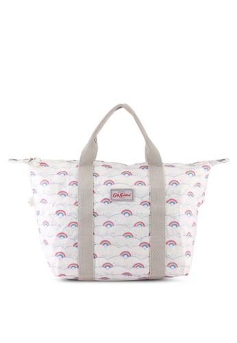 Cath Kidston beige Little Rainbows Foldaway Shopper Bag 67CEBAC3BDDC99GS_1