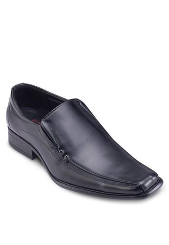 經典方頭商務皮鞋,esprit 衣服 鞋, 鞋