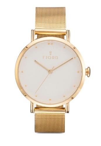 Dzalora時尚購物網的koumi koumiOTTA 三指針皮革圓錶, 錶類, 飾品配件
