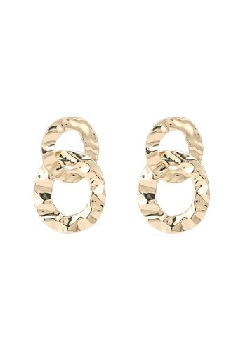 niko and ... gold Link Earrings 794F1AC1259E3FGS_1