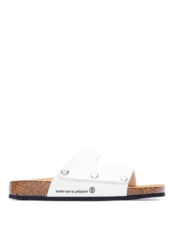 Life8 white Casual Memory Insole Flip-Flop Slippers-09692-White LI283SH0FPE7SG_1
