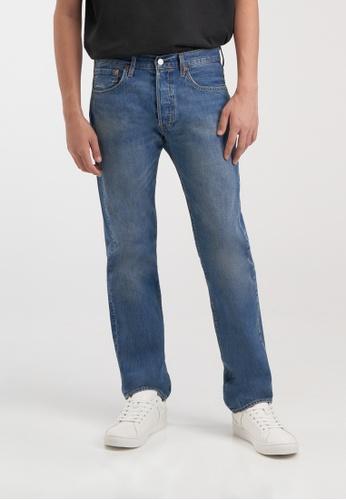 Levi's blue Levi's® Men's 501® Original Jeans 00501-3145 3D544AA8FB28F4GS_1