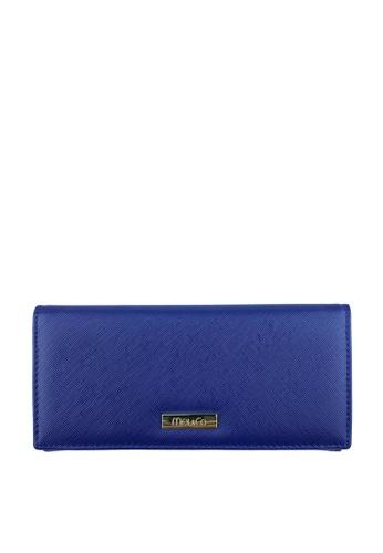 Mel&Co navy Faux Leather Long Wallet D2356ACAD98D7BGS_1