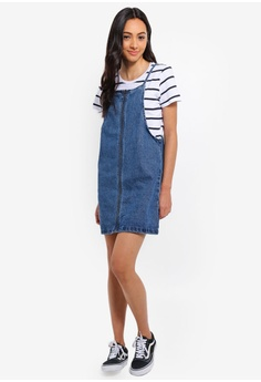 42f34f5c81b 48% OFF Cotton On Faith Denim Pinafore Mini Dress S  39.95 NOW S  20.90  Sizes 4 6 8 10 12
