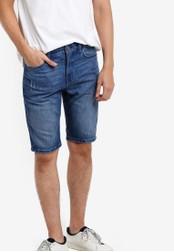 Calvin Klein blue Taper Shorts - Calvin Klein Jeans CA221AA48AJVMY_1