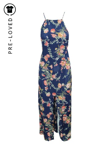 Reformation multi Pre-Loved reformation Maxi Floral Print Bare Back Dress 46647AAE6A41E4GS_1