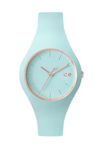 zalora 手錶Ice Glam 矽膠小圓錶, 錶類, 飾品配件
