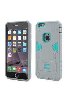 Armor Hybrid Anti Shock Heavy Duty Case for Apple iPhone 6S / 6G 4.7 - Grey/Green