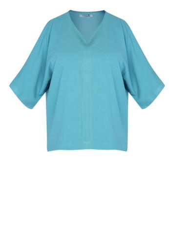 MAGENTTA blue Blouse Ora EBF69AA01823ECGS_1