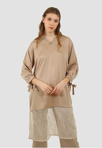 MISSISSIPPI brown BLOUSE A039BAA74BFB00GS_1