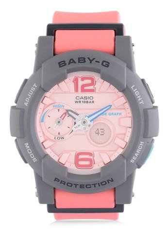 244bbf04428f Jual Baby-G Casio BABY-G Jam Tangan Wanita - Pink Grey - Resin - BGS ...