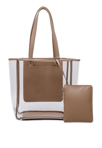 Milliot & Co. beige Eleanor Tote Bag A17F2ACE1397A0GS_1