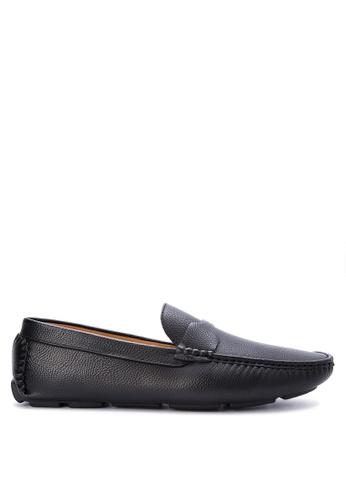 Mendrez black Alen Loafers ME992SH0KFLDPH_1