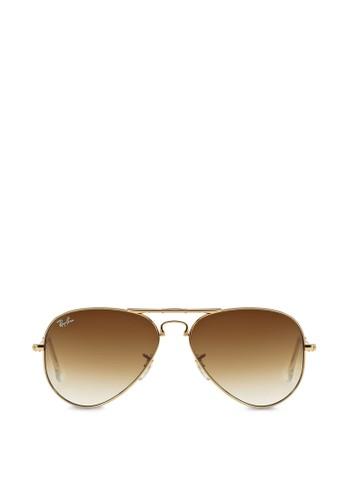 折疊飛行員太陽眼鏡, 飾品zalora 包包 ptt配件, 飛行員框