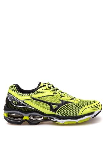 Mizuno yellow Wave Creation 18 Running Shoes MI197SH41CMGPH_1