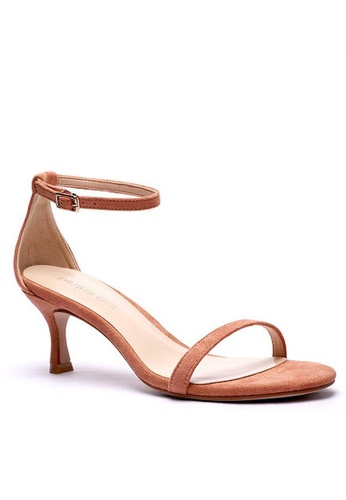 Twenty Eight Shoes 橘色 繞踝帶幼踭涼鞋366-1 C0854SH56AFB55GS_1