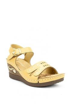 a771a139b5ae Cardam s Lifestyle beige Eva Wedge Sandals 1ADE2SH8855487GS 1