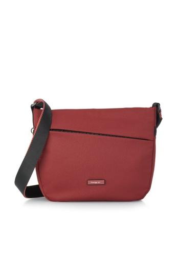 Hedgren red Hedgren Women Gravity Medium Crossover Bag Vineyard Wine - 4.4L B4855AC3E1EB23GS_1