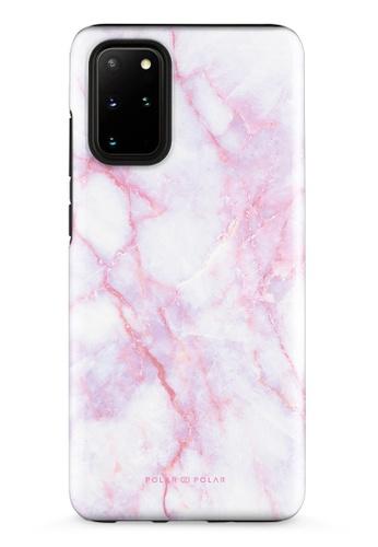 Polar Polar pink Pink White Samsung Galaxy S20 Plus 5G Dual-Layer Protective Phone Case (Glossy) 530BDAC3E15932GS_1
