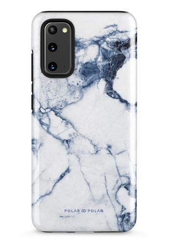 Polar Polar blue Indigo Vase Dual-Layer Tough Case Glossy For Samsung Galaxy S20 5G E2C10AC17E5CB9GS_1