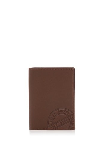 Braun Buffel brown Reynolds-F Card Holder with Notes Compartment B3FBBAC9A4B009GS_1