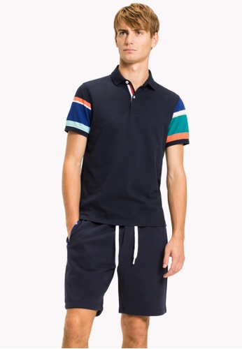 Tommy Hilfiger multi PLAYFUL STRIPED SLEEVE POLO 40231AA6D98AA1GS_1