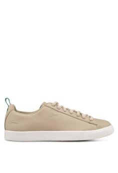 d61fd4e05f2c Puma Select brown and beige Puma x Big Sean Clyde Shoes F858FSH44724A3GS 1