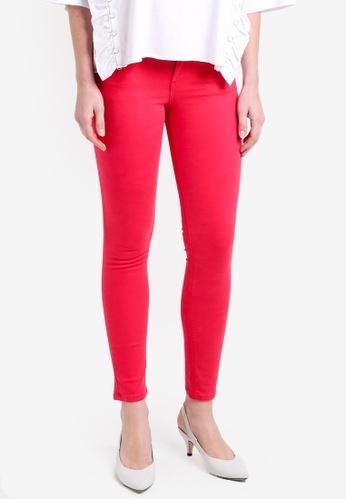 Mango pink Kim Skinny Push-Up Jeans MA193AA0RMJ1MY_1