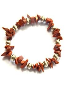 Gold Sandstone Chips Bracelet