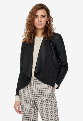 ONLY black Liana Drapy Jacket 39A31AAC5465F9GS_1