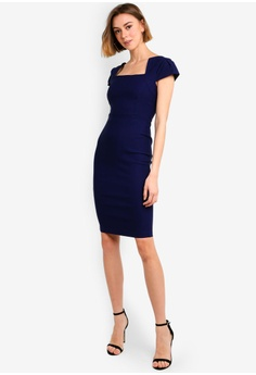 f6fa4136 31% OFF Vesper Brooke Sleeve Detail Midi Dress S$ 102.90 NOW S$ 70.90 Sizes  6 8 10 12 14