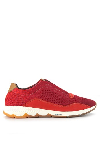 Hush Puppies red Ts Field Gore Slip 8DA0CSH340B7ADGS_1