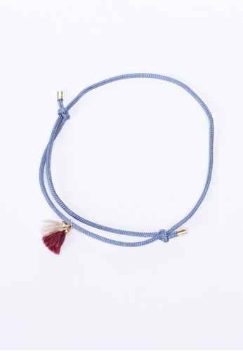 雙色流蘇腳繩, 飾salon esprit品配件, 手鐲 & 手環