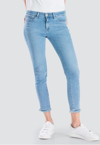 1f1fdec73f8d96 Levi's blue Levi's® Womens 711 Skinny Ankle Jeans 19558-0051  A8AAFAABF0710DGS_1