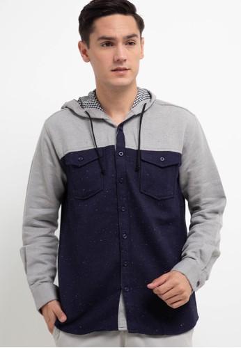 Salt n Pepper multi L/S-Men Shirt A19ECAAB0A918EGS_1