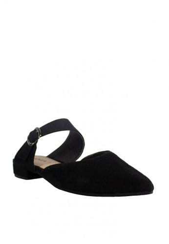 Zanea Shoes black Pointed Mules D339CSHF2711D1GS_1