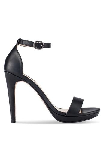ZALORA black Ankle Strap Heels 2A9DESH2A3597CGS_1