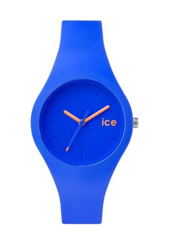Ice Ola 矽膠中性esprit 台中圓錶, 錶類, 飾品配件