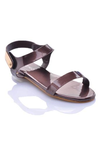 LENO PopyBronz Sandals (LS36497) LE122SH29OIGMY_1