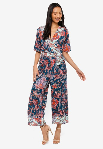 6dd3e709604 Buy Dorothy Perkins Paisley Mix Jumpsuit Online on ZALORA Singapore