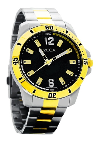 ZECA gold Zeca Watches Men Fashion Stainless Steel Analog - 2004M Gold 437A5AC87E3613GS_1