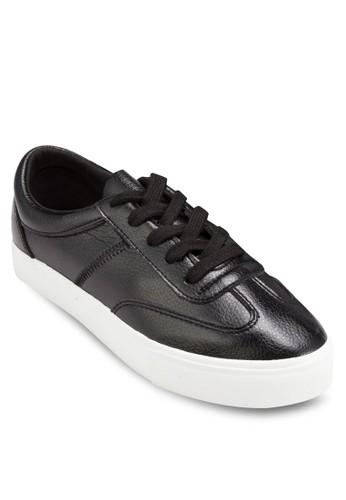 軟皮 No 4 繫esprit hk帶休閒鞋, 女鞋, 鞋