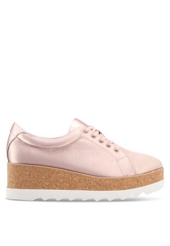 ALDO pink Ibywia Lace Ups 98566SH4113D5EGS_1